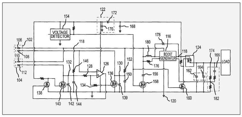 Battery switching circuit