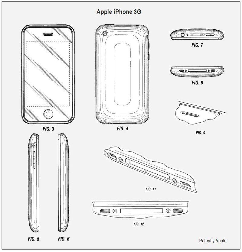 Apple iPhone Design Patent
