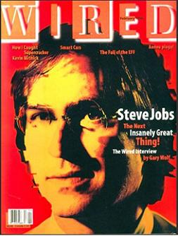 The Next Insanely Great Thing - Wired Magazine 1996 Cover
