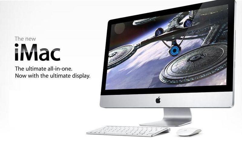NEW LED iMAC FALL 2009