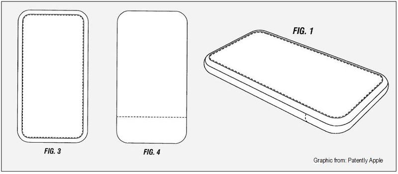 Mysterious tablet design granted patent figs 1, 3 & 4