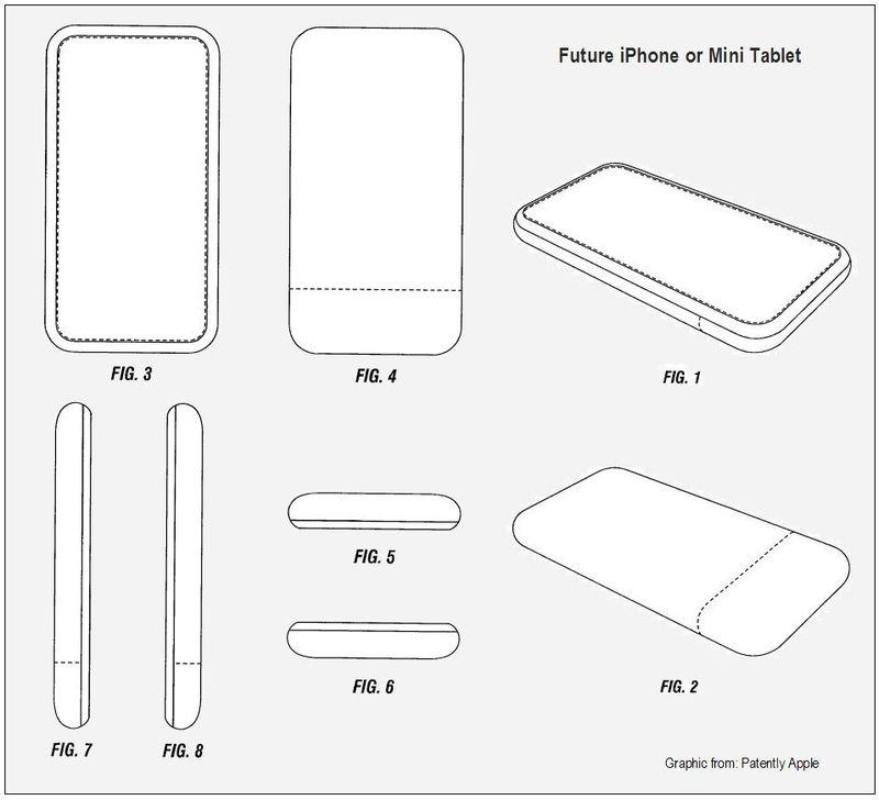 Future iPhone or Mini Tablet - the no button tablet