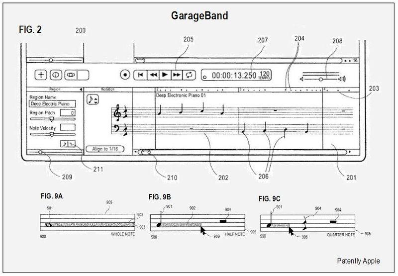 GARAGE BAND FIGS 2, 9A-C