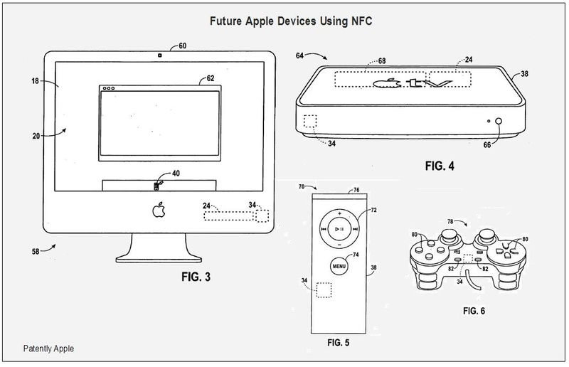 Apple devices to use NFC