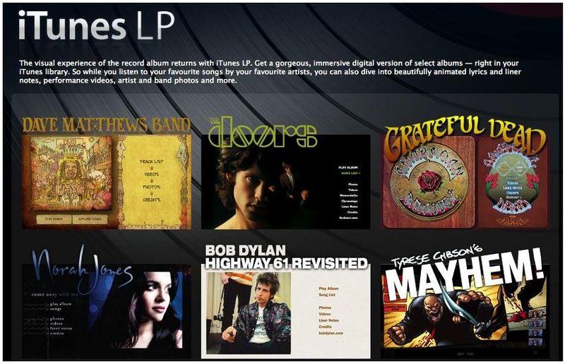 ITunes LP Trademark