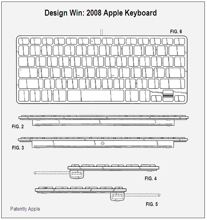 Apple Keyboard 2008 Design