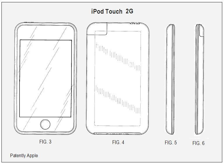 2G - iPod Touch Design Patent