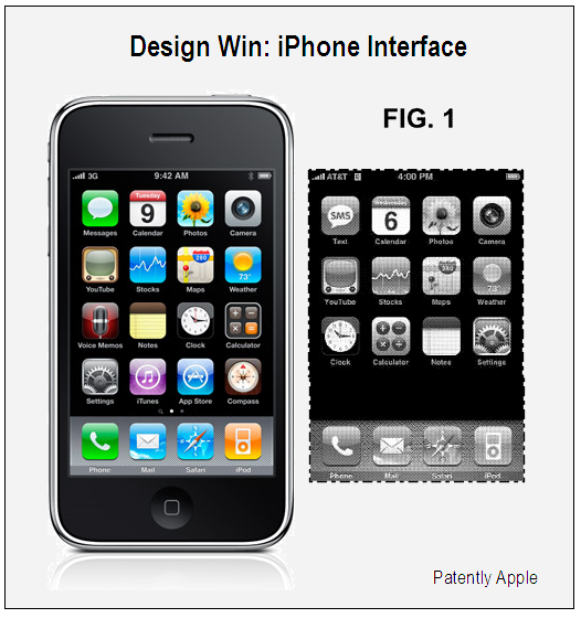 IPhone Interface Design Win