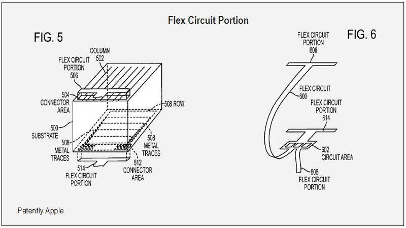 Flex Circuit Portion FIGS. 5 & 6