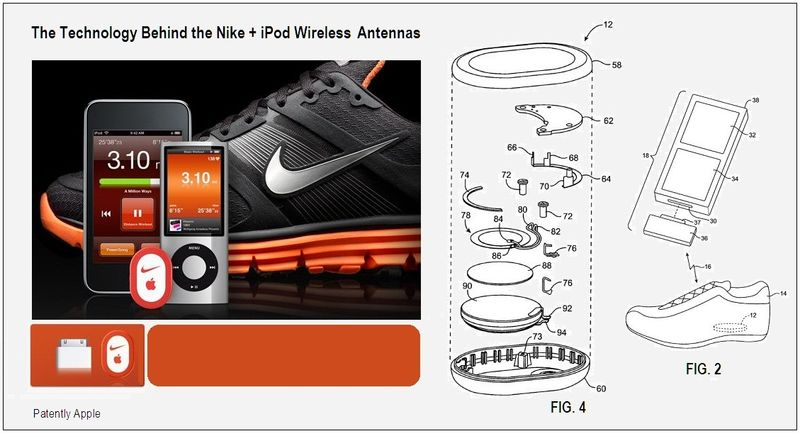 Nike + iPod Wireless Antennas Icon