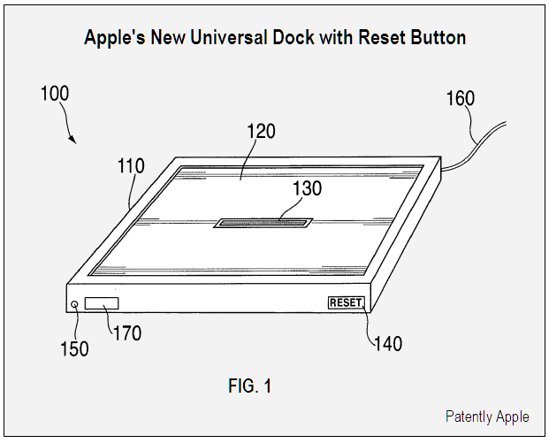 Universal Dock with Reset Button