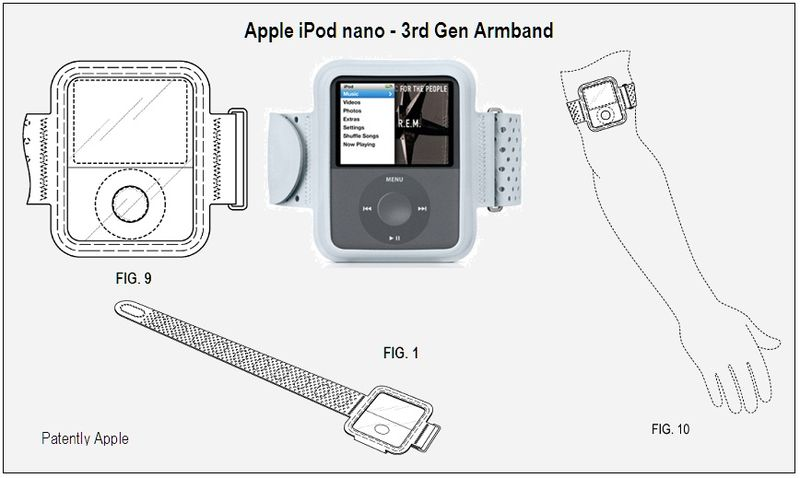 Apple iPod Nano 3rd gen Armband