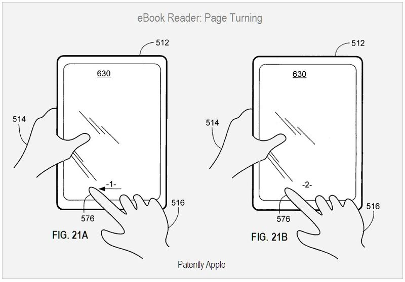 EBOOK READER - PAGE TURNING