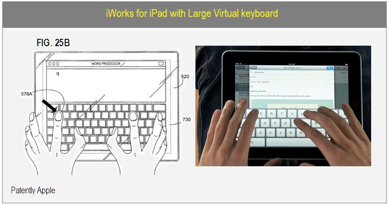 3 - IWORKS FOR IPAD WITH LARGE VIRTUAL KEYBOARD