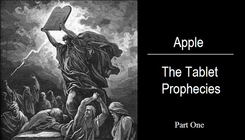Apple - The Tablet Prophecies, Cover - Part One b