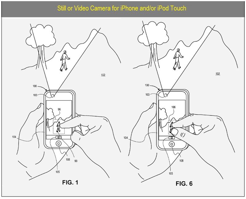 CAMERAS - STILL OR VIDEO ON TOUCH DISPLAY MEDIA PLAYERS