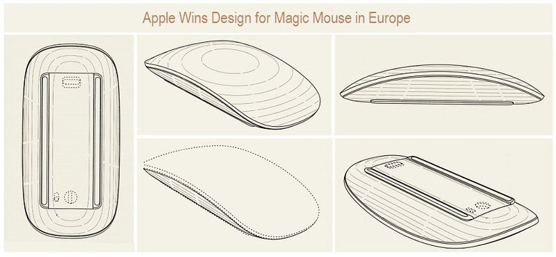 Apple Wins Design for Magic Mouse in Europe