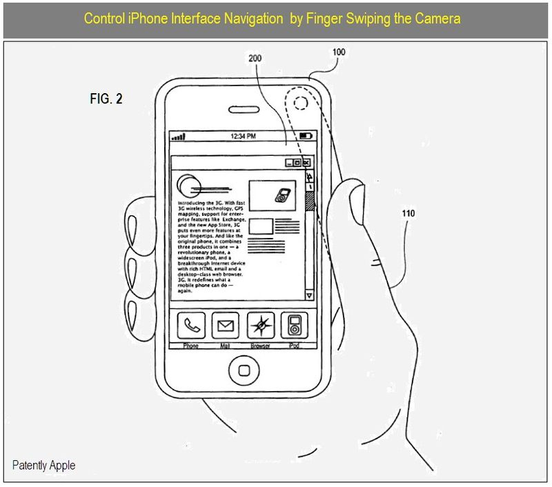 3 - Control iPhone Navigation via Finger Swiping Camera