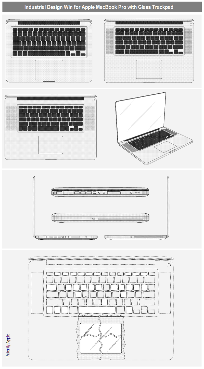 2 - MACBOOK PRO WITH GLASS TRACKPAD