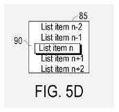 3-D UI, iPod lists