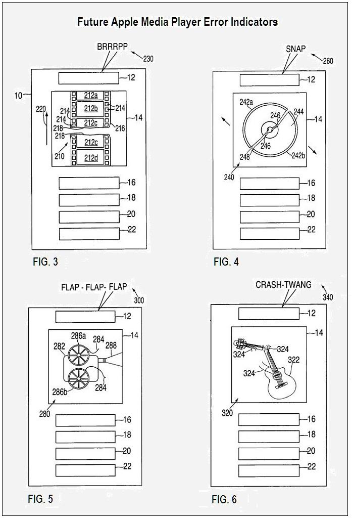 2 - Future Apple Medial Player Error Indicators