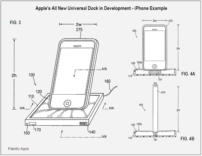 Apple New Dock in Development - iPhone Example