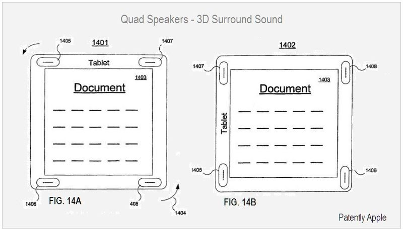 Quad Speakers, 3D Surround Sound