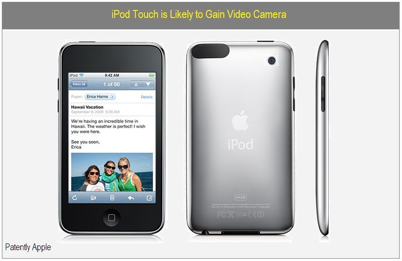 IPod touch to gain video camera - Cover