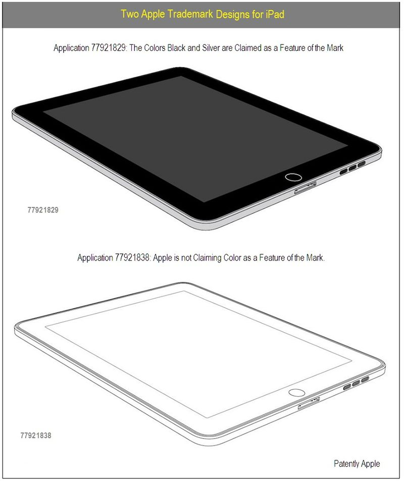 TWO APPLE TRADEMARK DESIGNS -