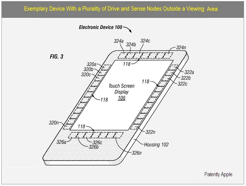 3 - EXEMPLARY DEVICE - DRIVE & SENSE NODES outside viewing area
