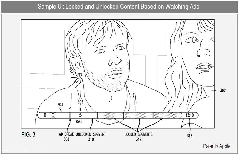 3 - LOCKED & UNLOCKED CONTENT BASED ON WATCHING ADS
