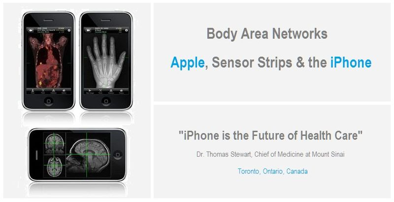 1 - COVER - BODY AREA NETWORKS - APPLE, SENSOR STRIPS & THE IPHONE - MARCH 2010