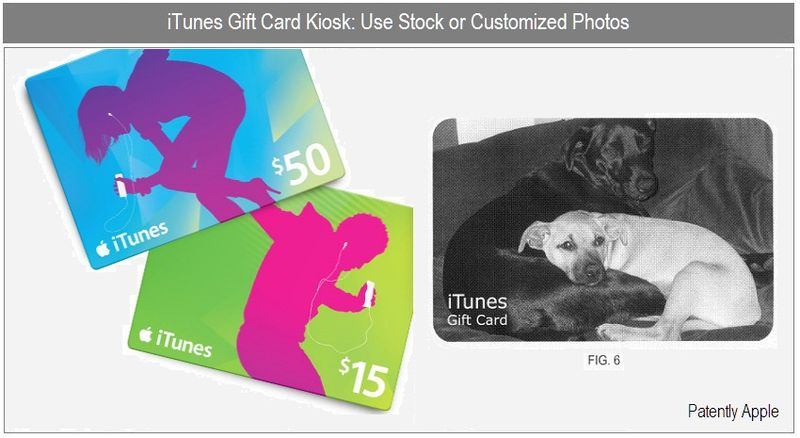 3 -iTunes Gift Card Kiosk - Stock or Custom Photos