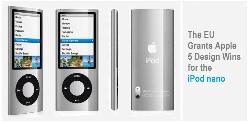 1 - COVER - EU grants Apple 5 Design Wins for iPad nano