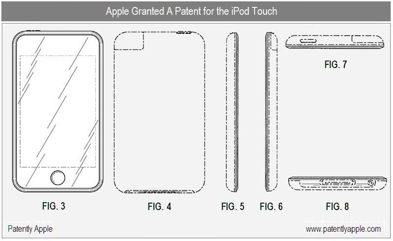 3 - iPod Touch - Granted Patent Apr 13, 2010
