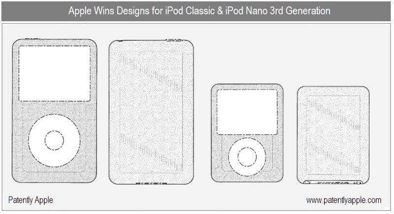 2 - Design Wins for iPod Classic & nano 3rd gen