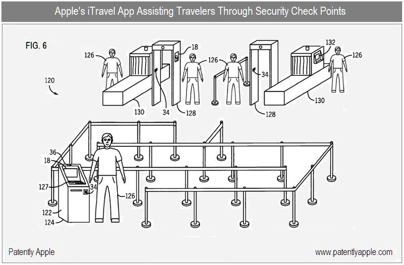 5 - Security Check Points, using iTravel on iPhone