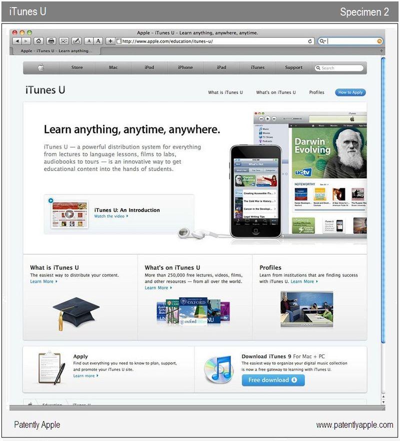 4 - iTunes U - specimen 2