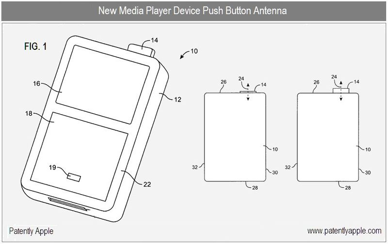 1 cover - push button antenna