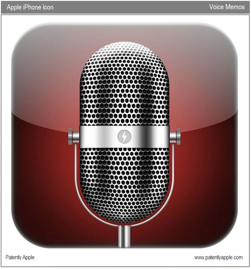 3 - voice Memos icon trademark