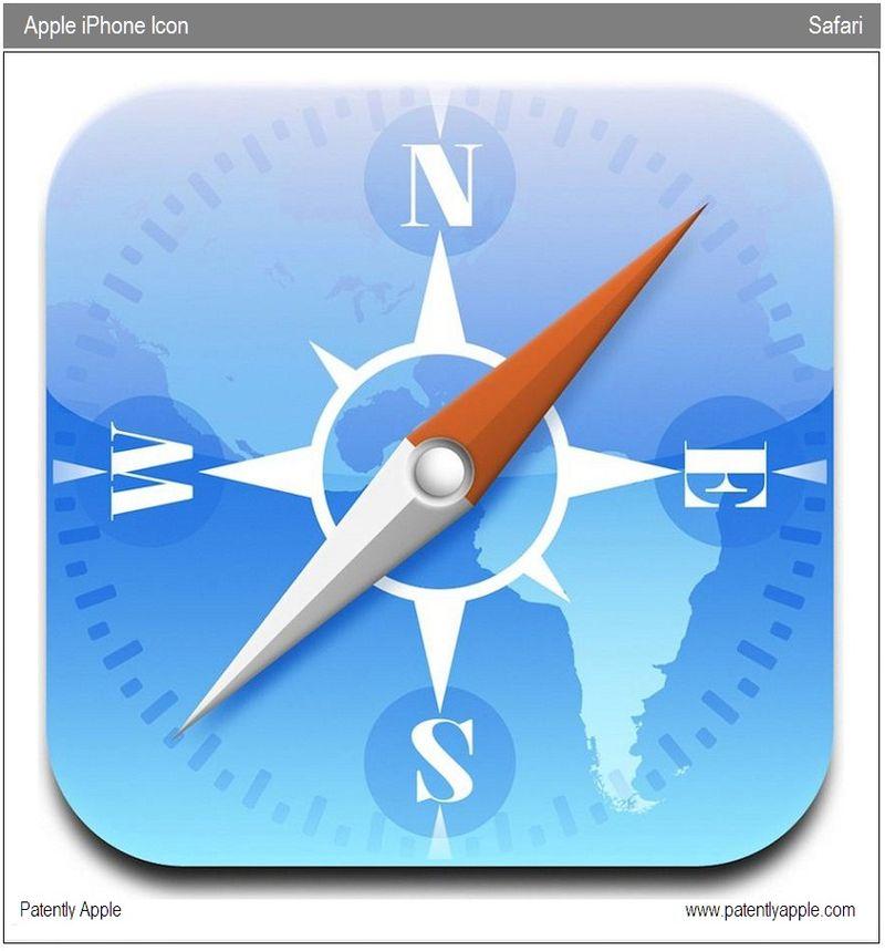 3 - Safari's iPhone Icon