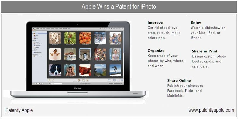1 Cover - iPhoto granted patent