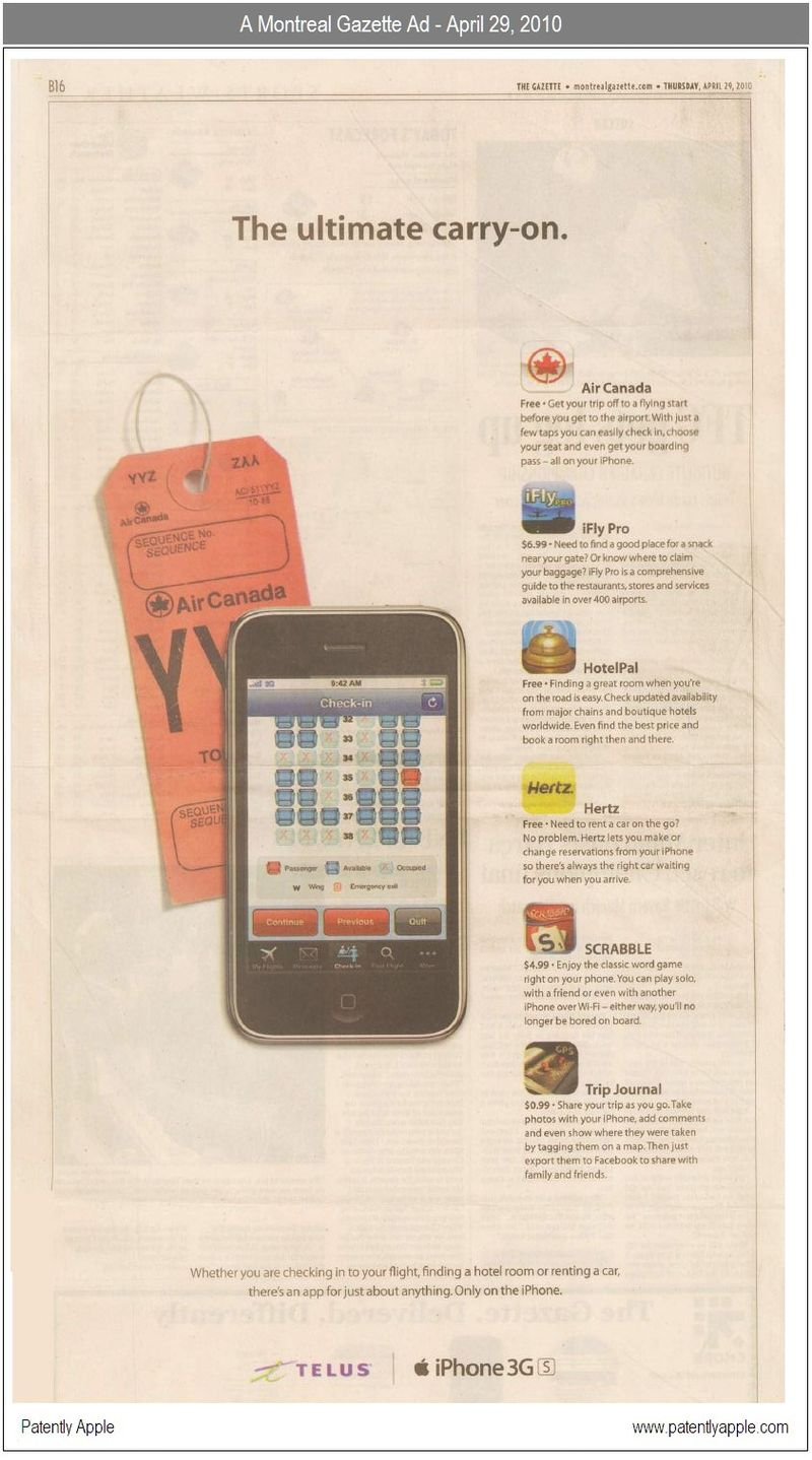 2 - Montreal Gazette Newspaper April 29, 2010 - UPDATED SCAN