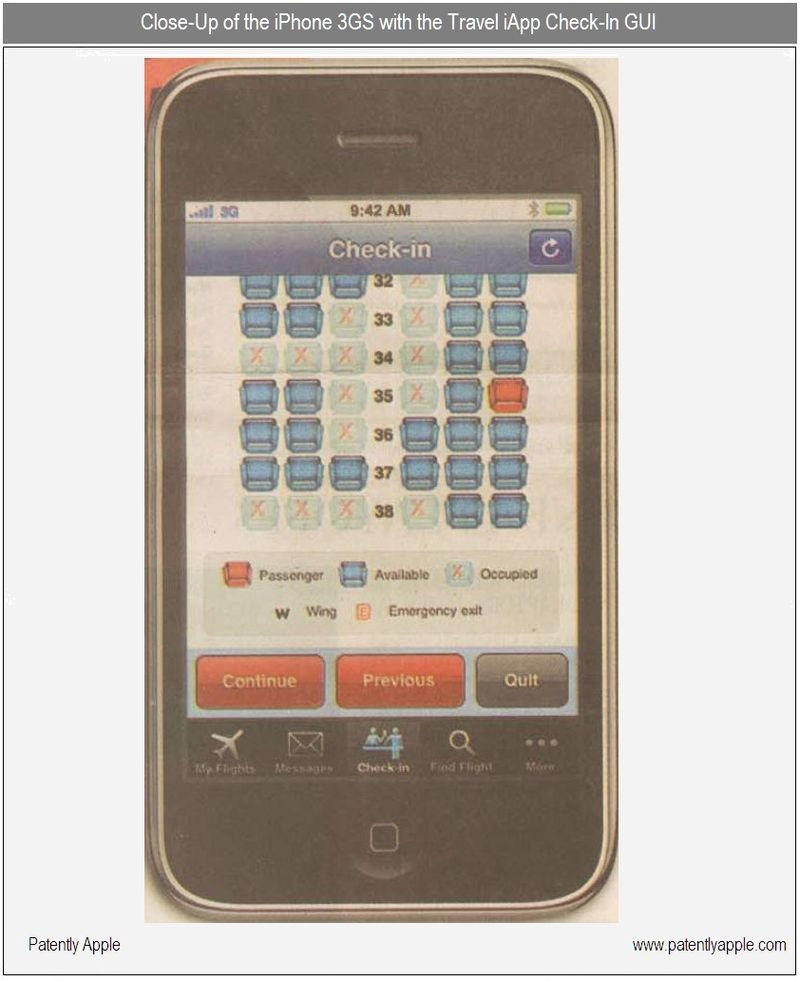 2B - CLOSE UP OF THE TRAVEL IAPP CHECK-IN GUI
