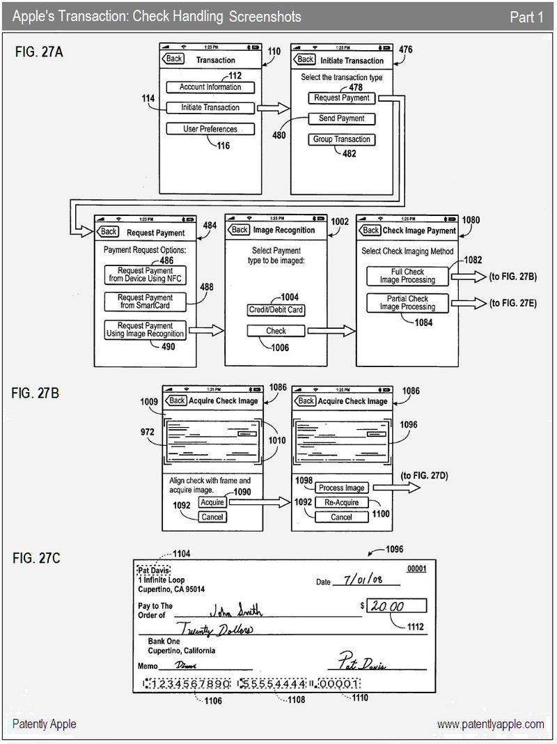 11 - Check Handling iPhone transaction application screenshots - final