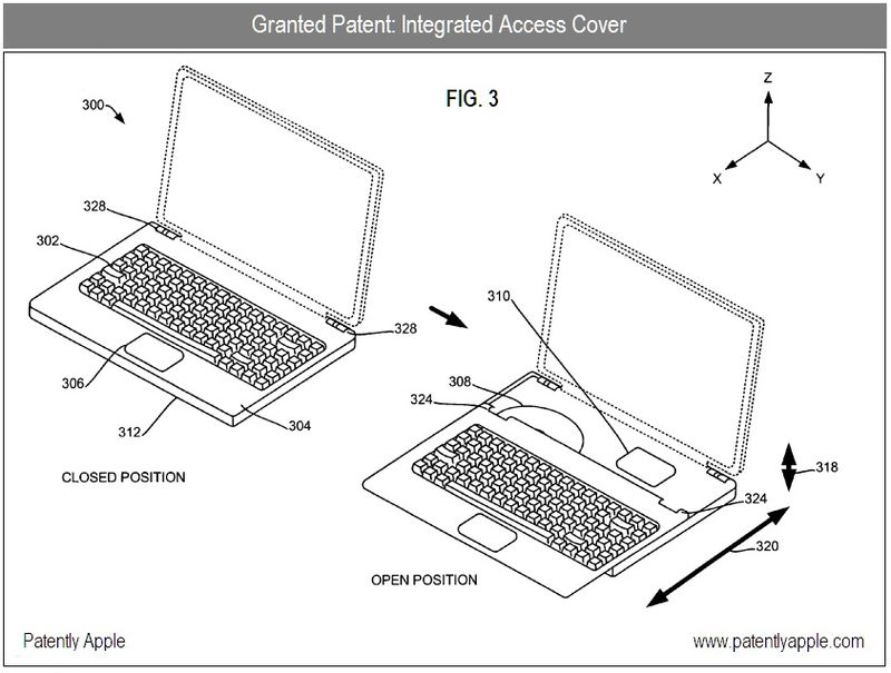 5 - Integrated Access Cover for MacBooks