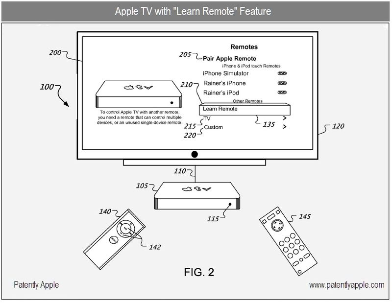 3 - Apple TV with Learn Remote option