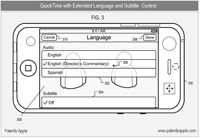 3 - Apple Inc., QT extended language & Subtitle Control