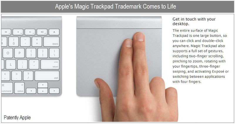 1b - Cover - Apple's Magic Trackpad trademark comes to life, v2
