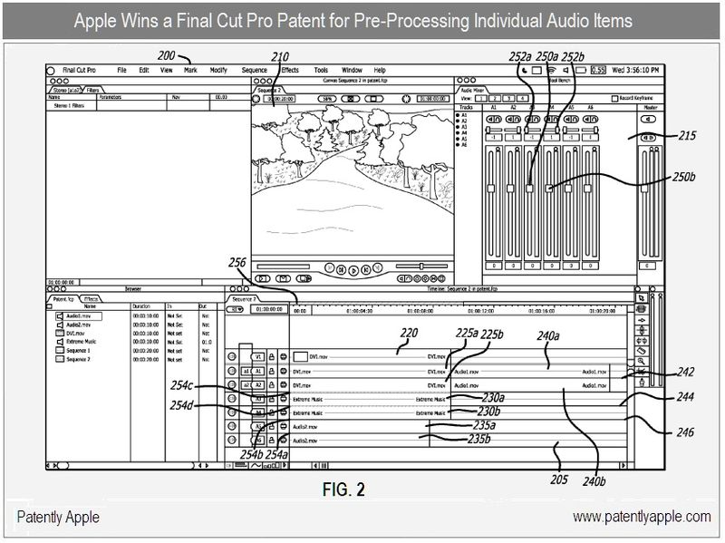 6 - apple inc patent win for final cut pro audio